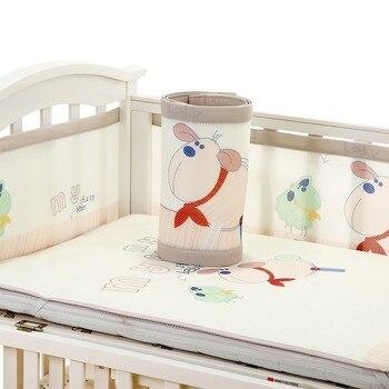 Baby Bed Wieg.Baby Bed Bumper Wieg Ademend Baby Kids Beddengoed Bumper Botsing
