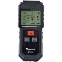 MUSTOOL MT525 Digitale Strahlung Tester Elektrische Feld & Magnetfeld Dosimeter Tester Sound und Licht Alarm