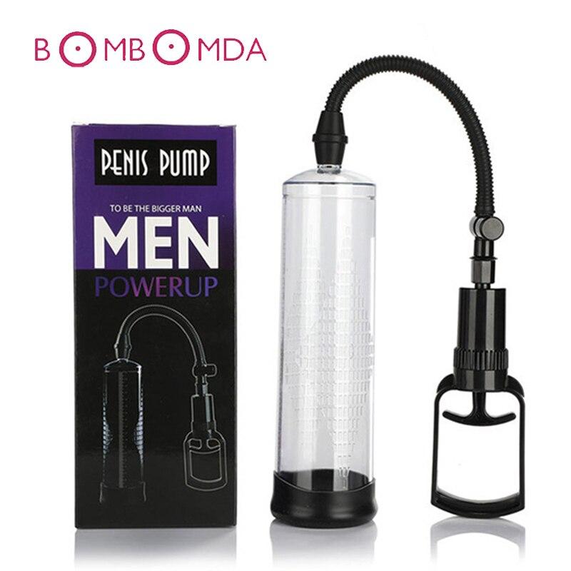 Sex Toys Penis pump penis Vacuum Enlarger Extender Masturbator Ejaculation Delay Vibrators Adult Product Sex Toy For Man Couples