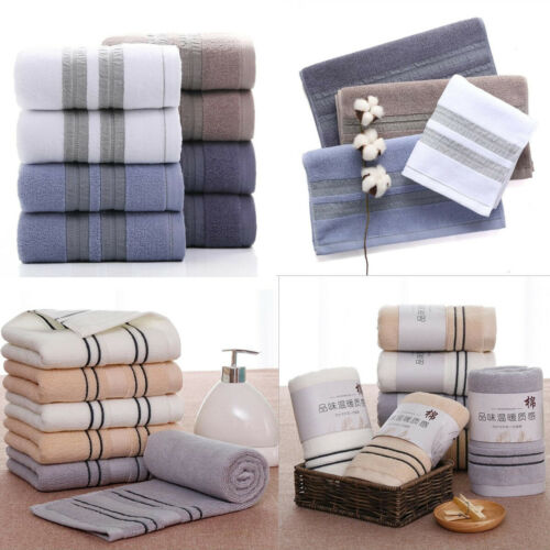 Pure 100% Cotton Home Soft Absorbent Comfort Hand Face Sheet Bath Beach Towels-in Face Towels from Home & Garden