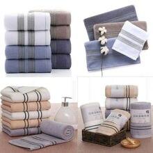 Pure 100% Cotton Home Soft Absorbent Comfort Hand Face Sheet Bath Beach Towels