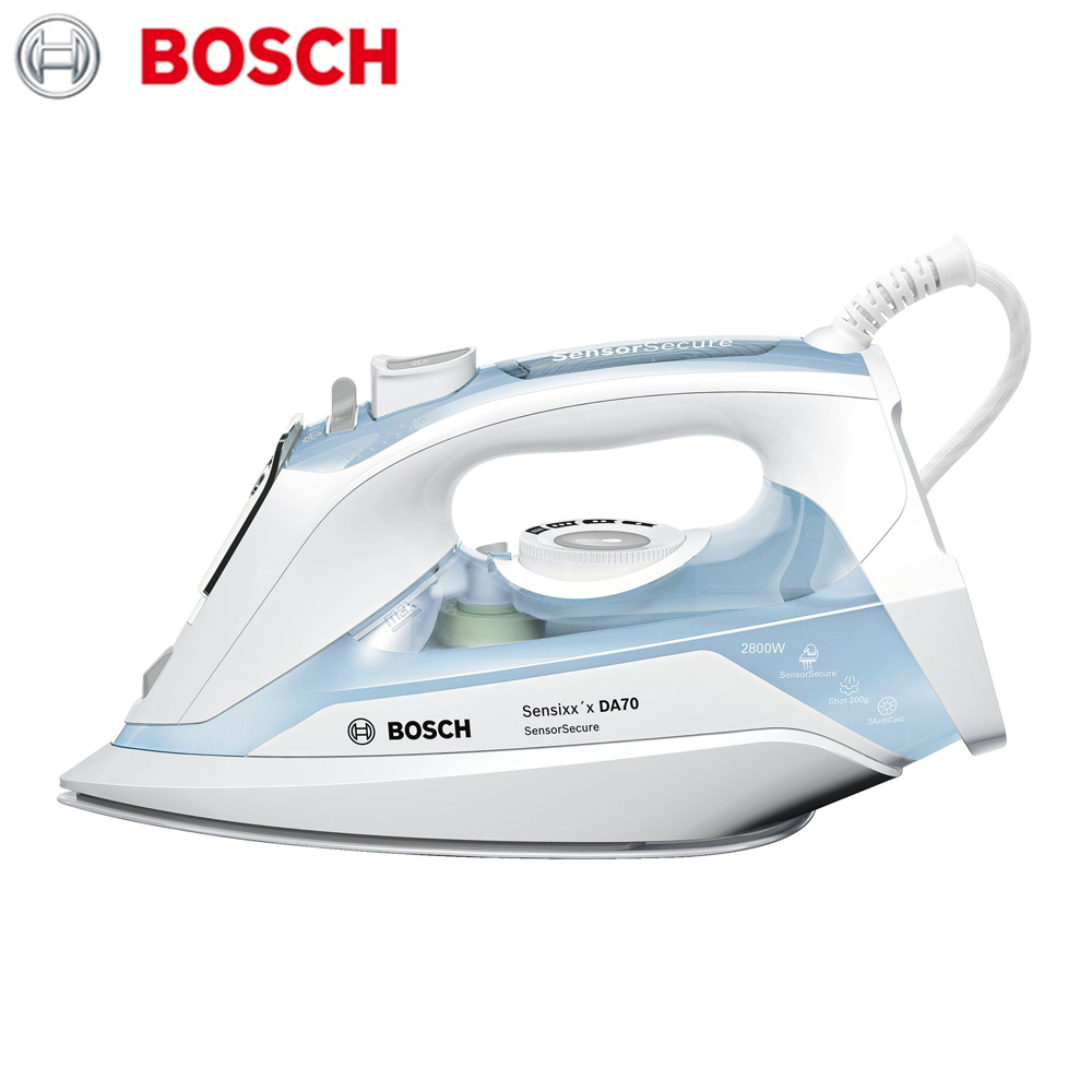 Electric Irons Bosch TDA7028210  household appliances laundry steam iron ironing clothes panasonic ni wt980ltw steam iron with ceramic nonstick soleplate electric steamer ironing machine household non stick baseplate