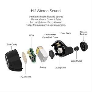 Image 2 - Blitzwolf BW FYE3 מגע בקרת bluetooth V5.0 TWS אמיתי אלחוטי אוזניות HiFi סטריאו דו צדדי שיחות ספורט אוזניות אוזניות