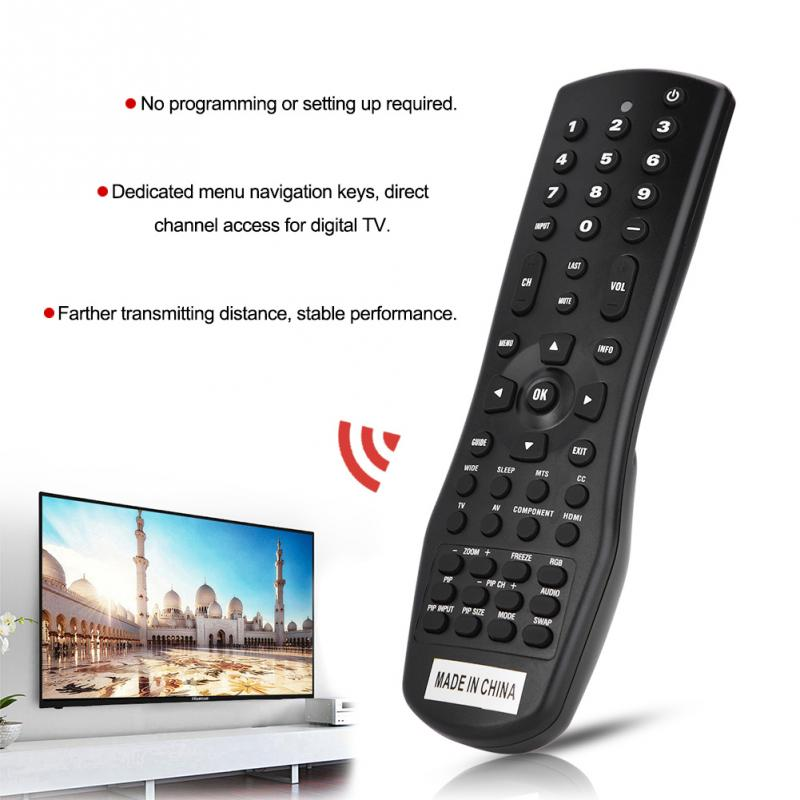 1PC Smart TV Remote Control Controller Replacement For VIZIO VR1 LED LCD TV Black