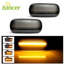 Lampeggiatore A LED Laterali Segnali Luminosi Ambra Segnale di Fumo Luce Led Indicatore Della Lampada Per Audi A3 S3 8 P A4 S4 RS4 B6 B7 B8 A6 S6 RS6 C5 C7