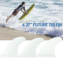 High quality Future Tri Fin  4.37'' Surfing Tri Fin Set Surfboard Fins FCS  Thruster 3 Packs Surfboard Fins 2019 минимойка nilfisk mc 7p 195 1280 fa 400 3 50 eu