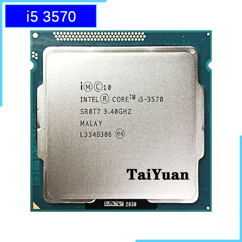Intel Core i5 3570 i5 3570 3 4 GHz Quad Core CPU Processor 6M 77W LGA