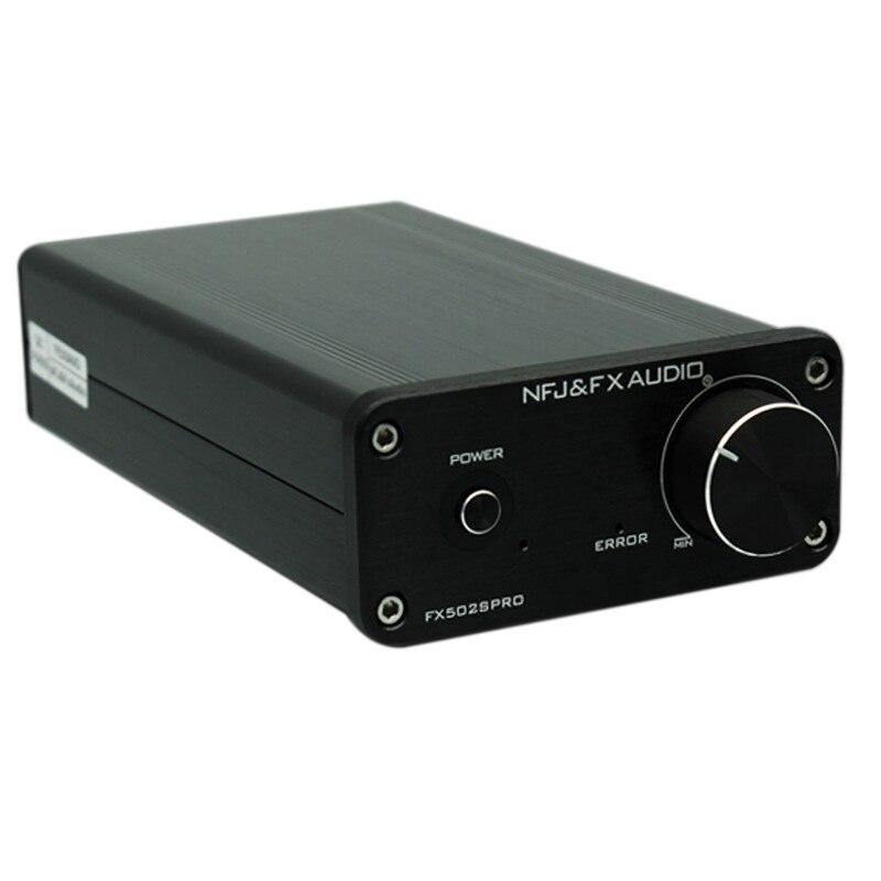Top NFJ e FXAUDIO FX502S PRO HIFI 2.0 Audio Digitale Amplificatore Ad Alta Potenza Casa Mini Professionale Amp TPA3250 NE5532 x2 70 W x2