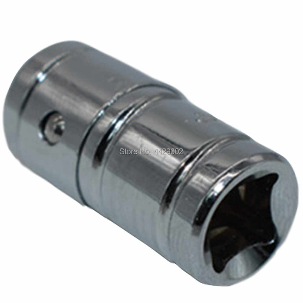 "1/4"" Drive Square Socket to 1/4"" Hex Bit Adapter Bit adaptor 1/4""-1/4"" 6.3mm-6.3mm Screwdriver Bit Holder Adaptor Socket Adapter"
