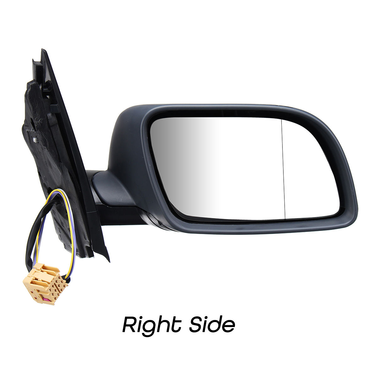 NEW VW POLO MK5 9N 2002-2005 ELECTRIC DOOR WING MIRROR PASSENGER SIDE