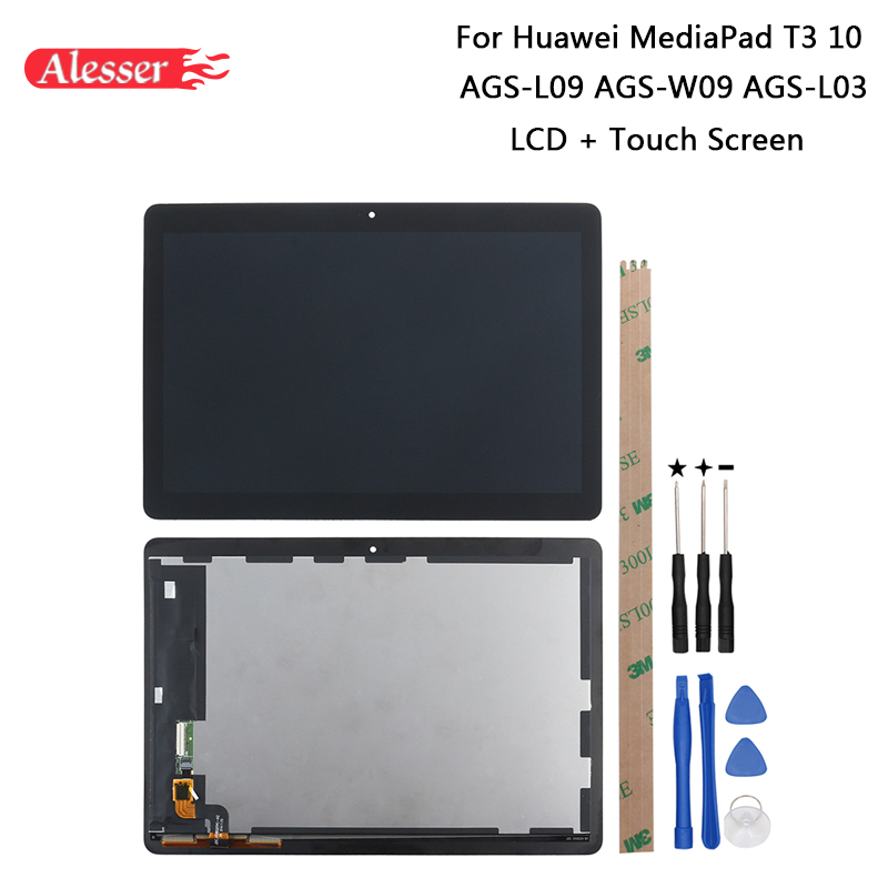 Alesser For Huawei MediaPad T3 10 AGS L09 AGS W09 AGS L03 LCD Display Touch Screen