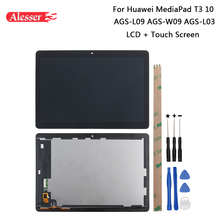 Alesser For Huawei MediaPad T3 10 AGS L09 AGS W09 AGS L03 LCD Display And Touch Screen +Tools Adhesive For Huawei MediaPad T3 10
