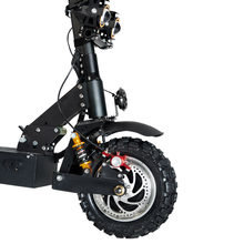 11 inch off-road double drive electric scooter 60V3200W/85Km/h foldable road electric two-wheeled motorcycle scooter for adults(China)