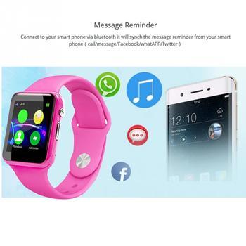 U10 Anti-Lost Smartwatch Children Kids Smart Wristwatch Activity Tracking Watch(pink) 5