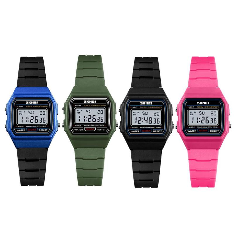Children Watch Waterproof Sports Watches Kid Boys Girls Luminous PU Strap Wristwatch