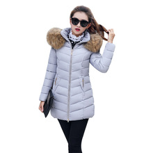 купить 2018 Winter Coat Women Parka Outerwear Warm  jacket Winter Jacket Female Coat jacket women по цене 1230.86 рублей