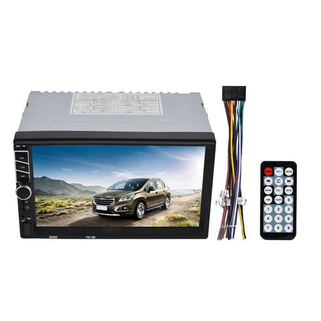 7in Double Din Bluetooth Car Stereo Audio Radio Vehicle Mp5