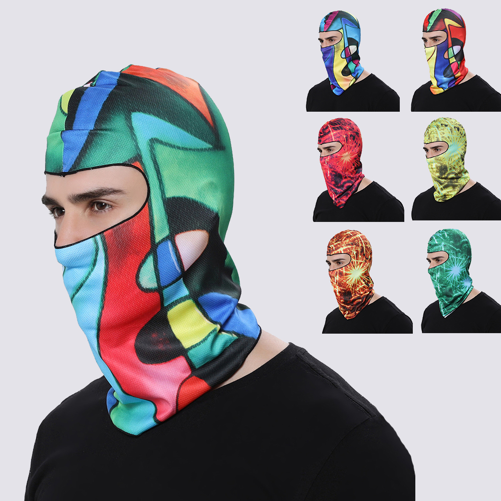 3D Balaclava Face Mask Motorcycle Full Face Mask Cycling Warmer Headwear Windproof Breathable Motocross Mask Ski Full Face Mask in Motorcycle Face Mask from Automobiles Motorcycles