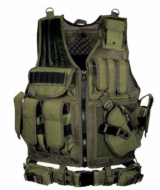Army Fan CS Field Tactical Vest Men Women Outdoor Military Training Hunting Shooting Camping Waistcoat Camo Uniform Protect Gear