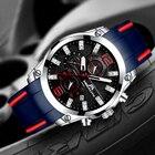 MEGALITH Men Sports Watches Waterproof Sports Watch Men'S Chronograph Full Steel Quartz Men'S Watch Relogio Masculino