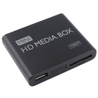 Mini Media Player 1080 p Mini Box TV Box Multimedia Video Player Full HD SD Card MMC reader 100 Mpbs AU EU Plug