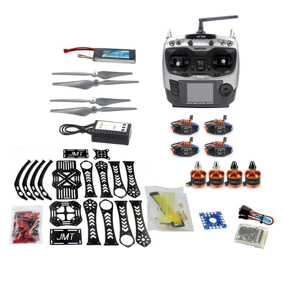 Bricolage RC Drone Quadrocopter RTF X4M360L cadre Kit QQ Super Radiolink AT9S F14892-H
