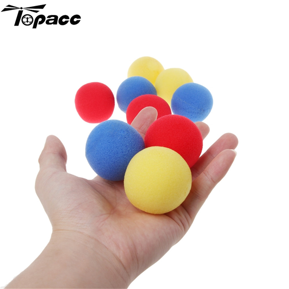 30pcs 4.5cm Finger Magic Tricks Props Sponge Balls Fun Toys Street Classical Illusion Stage Comedy Tricks Magic Balls Kids Toy image