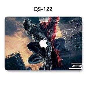 Image 4 - Pour nouveau portable MacBook étui pour ordinateur portable MacBook manchon Air Pro Retina 11 12 13.3 15.4 pouces avec écran protecteur clavier Cove