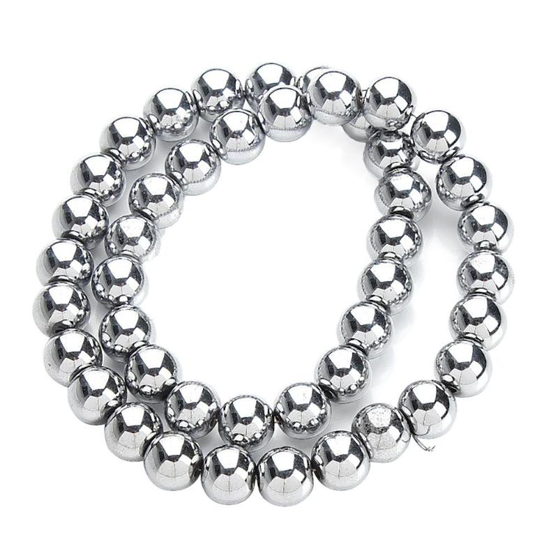 Creative DIY Jewelry Bracelet Making Material Obsidian Loose Beads Craft