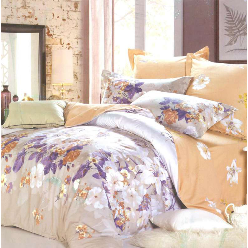 Bedding Set SAILID B-145 cover set linings duvet cover bed sheet pillowcases TmallTS 4pcs plaid duvet cover set