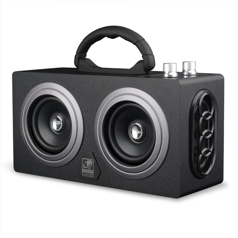 Brand New Car Bluetooth Speaker Outdoor Fashion Radio Subwoofer Wireless Bluetooth Stereo Playback + Bluetooth Call High Quality - 2