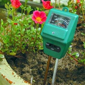 100 Pro 3 в 1 PH гидропонный анализатор солнечного света Умный измеритель влажности почвы в дереве набор инструментов для тестирования