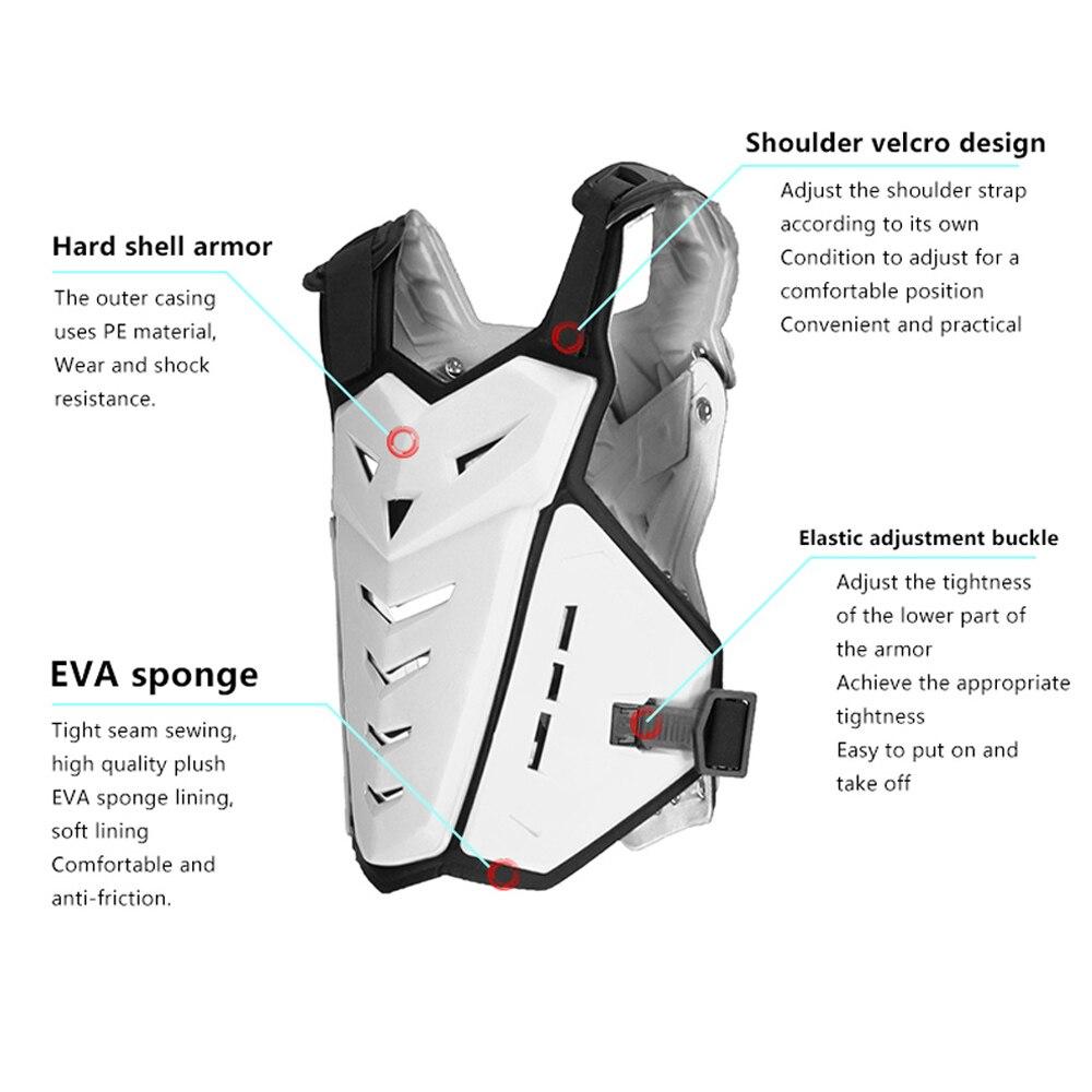 Fantôme course moto vestes moto armure Motocross tout-terrain course sécurité équipement de protection poitrine protecteur soutien arrière - 5