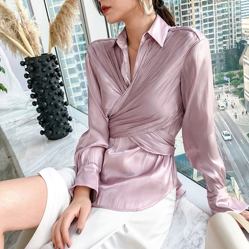 discount Korean TWOTWINSTYLE Blouses