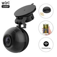 Mini WiFi Dash Cam FHD 1080P Dashboard Camera 140 Degree Wide Angle Car Driving Recorder 3.5 Meters Power Cable For M7 Plus