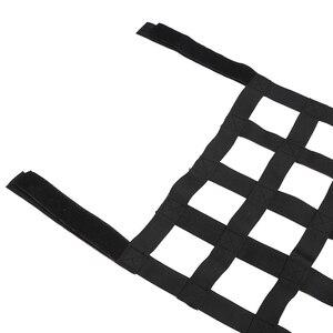 Image 5 - Jeep Wrangler Jl Jk 2007 2018 için 1 adet siyah üst çatı hamak dinlenme yatağı kargo ağı kapağı araba dış aksesuarları