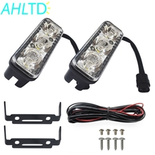 цены 2pcs Car daytime LED light DRL DC 12-80V 7000LM Car Daytime Running Lights 3/6/9 LEDs Car Styling Daylight Super Bright