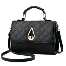 Women Messenger Bags Quilted Leather Women Bag Chain Cross-body Handbags Women's Handbag Brand Lady Shoulder Shopping bag  стоимость