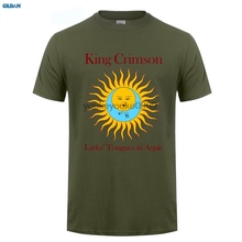 GILDAN  MEN T SHIRT King Crimson Larks' Tongues In Aspic T-Shirt Men and men Tee big Size S-XXXL columbia men s big