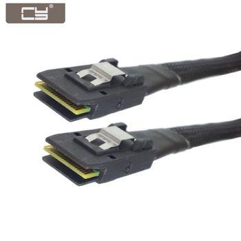 Mini SAS 36pin SFF-8087 Server Hard Disk Raid Data Cable for Controller Application to Internal Mini SAS 36Pin SFF-8087 контроллер lsi megaraid sas9341 8i 05 26106 00 lsi00407 sas 12gbps pcie3 0 x8 md2 raid 0 1 10 5 50 8 ports 2x sff8643 hd mini sas каб отдельно