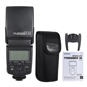Image 5 - YONGNUO YN568EX III YN 568EX III TTL اللاسلكية HSS فلاش Speedlite لكانون DSLR كاميرا متوافق YN600EX RT II YN568EX II