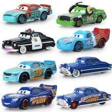 Cars Disney Pixar Lightning McQueen Huston Storm Ramirez Diecast Metal Alloy Boys Kids baby Toys 0-12 months Surprise price
