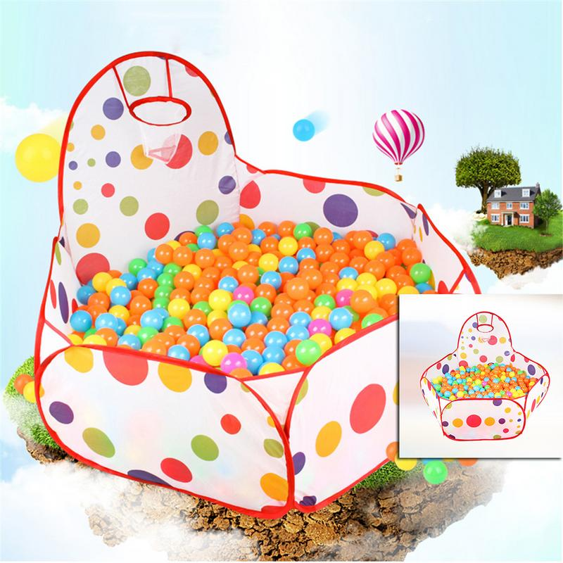 Baby Boys Girls Ocean Ball Pit Pool Game Arena Play Tent