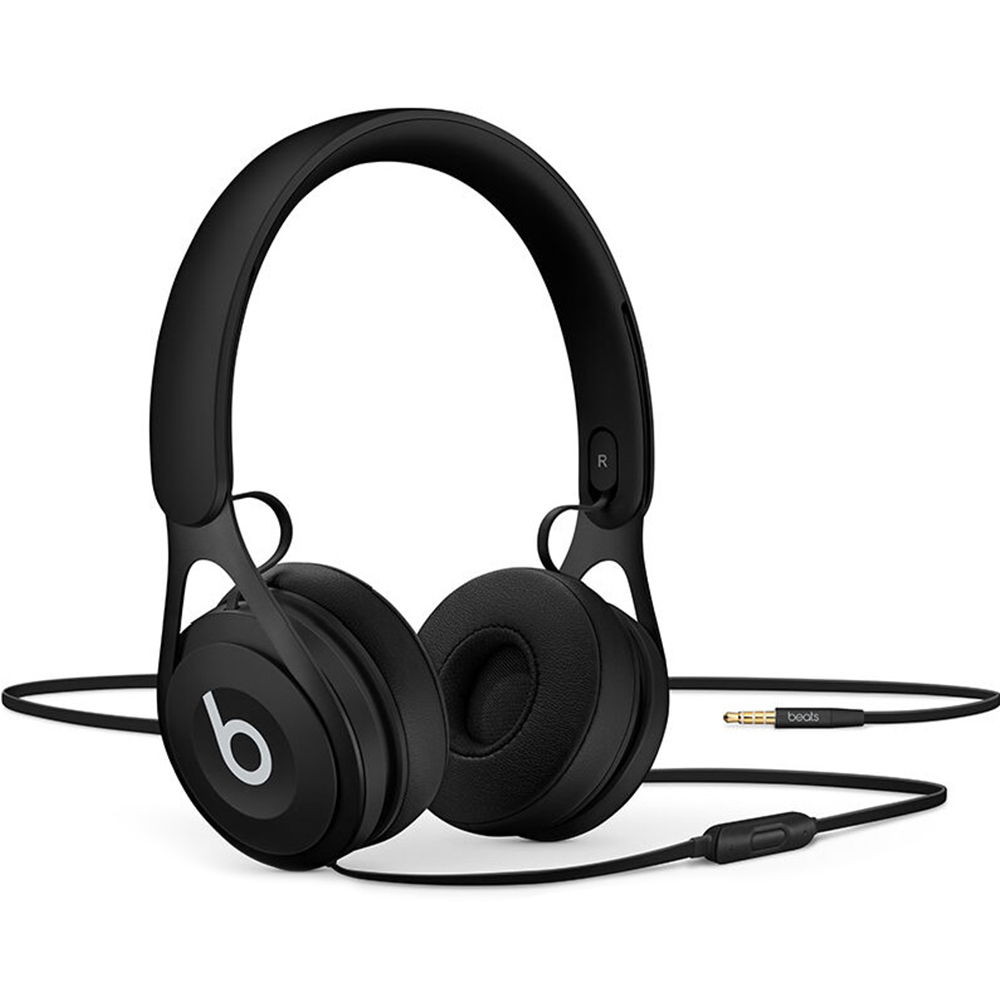 Beats EP Headphones 3.5mm Wired On Ear Headset Stereo Music Earphone Enhanced Bass Line Control with Mic Noise Isolation