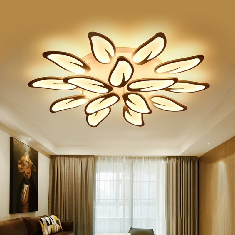 Modern LED Ceiling Lights For Living Room lighting Bedroom Dining Kitchen Fixtures Home Decor Lamps With Remote Control lustre|Ceiling Lights| |  - title=