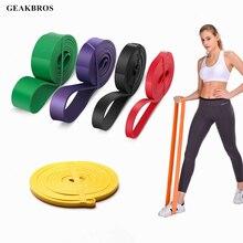 купить Resistance Band Fitness Rubber Bands Unisex 208Cm Yoga Pilates Athletic Elastic Band Loop Expander for Exercise Sports Equipment по цене 118.13 рублей