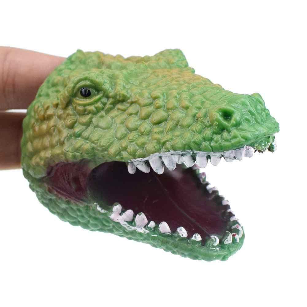 Estrela Principal Médio Macio Simulação Brinquedo Contar Histórias fantoche De mão De Dinossauro prop