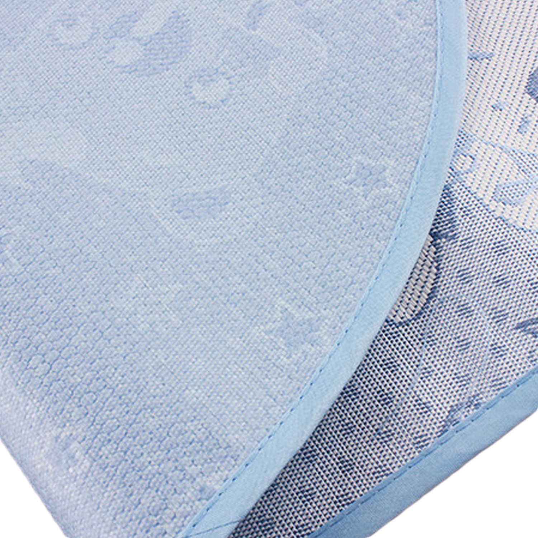 Мини мультфильм складной дышащие мягкие детские Cool коврик для Лето кроватки матрас для пеленания лист с подушкой 41,34x23,62 дюймов