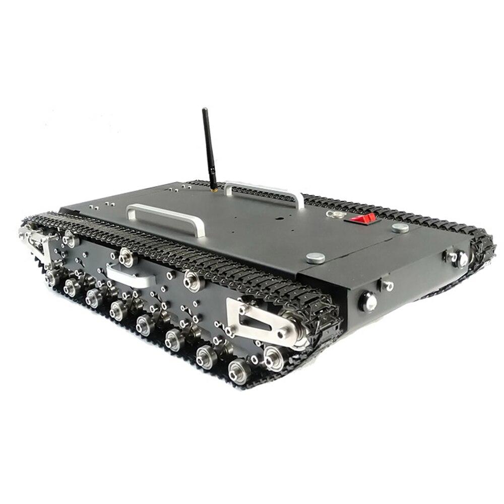 Amélioré WT-500S Intelligent Sur Chenilles TÉLÉCOMMANDÉ Réservoir RC Voiture Robot Châssis de Base