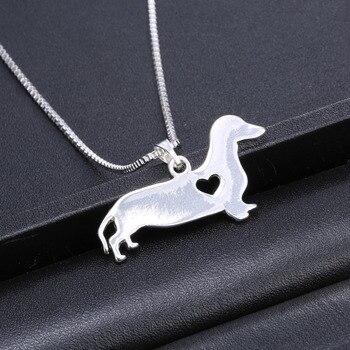 Dog Pendant Necklaces  1
